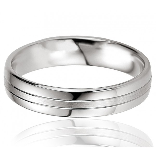 bague alliance breuning en argent massif pour homme mod le titanos. Black Bedroom Furniture Sets. Home Design Ideas