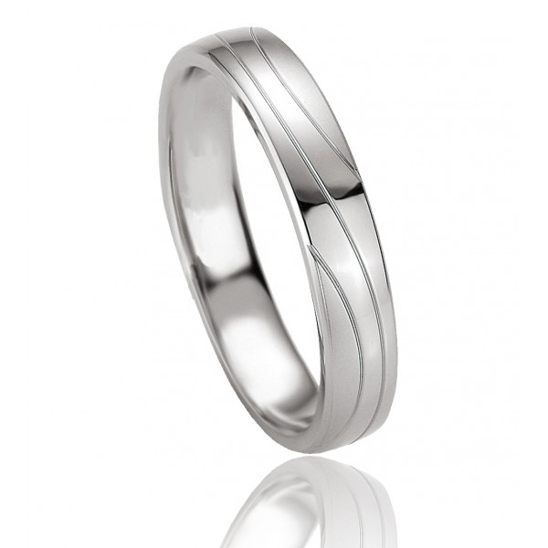 bague alliance breuning en argent massif pour homme mod le prom th e. Black Bedroom Furniture Sets. Home Design Ideas