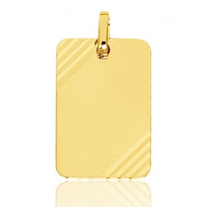 collier homme or jaune